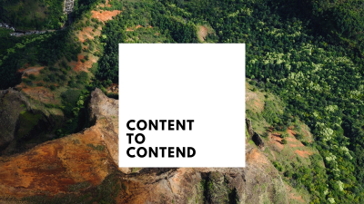 Content to Contend